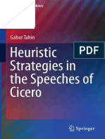 Gábor Tahin auth. Heuristic Strategies in the Speeches of Cicero
