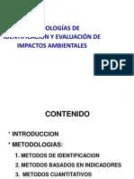 evaluacion de impactos ambientales