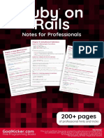 Ruby on Rails Notes for Professionals | Ruby On Rails