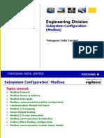 SA14 Subsystem Configuration Modbus