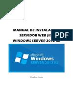 Servidor Web (iis) en Windows Server 2012 r2
