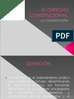 El Derecho Constitucional y La Constitución.