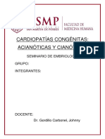 Cardiopatías Congénitas Sem