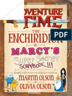 Adventure Time - The Enchiridion & Marcy's Super Secret Scrapbook!!!
