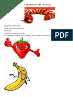 Serpiente de Fruta
