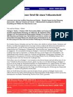 Stuttgart21 Offener Brief Frieden Dialog
