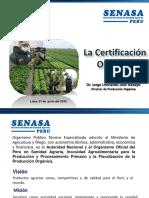 Certificación Orgánica SENASA