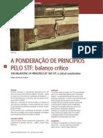 a ponderacao no STF.pdf