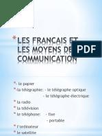 Les Moyens de Communication Enseignement Communicatif Des Langues 88394