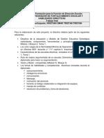 Proyecto de Fortalecimiento Escolar y Habilidades Directivas