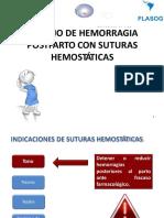 SUTURAS HEMOSTATICAS