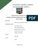 ESTUDIO DE BALANCE HIDROLÓGICO DE LA CUENCA DEL RÍO LOCUMBA, falta terminar