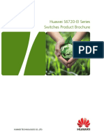 Huawei S6720-EI Series Switches Product Brochure
