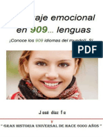 Lenguaje Emocional en 909...Lenguas - Jose Fernando Diaz Fernandez