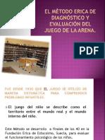 El Mètodo Erica de Diagnóstico y Evaluación Del Juego de Arena.