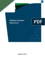 2018 - Mobiliza Contínuo - Regramento