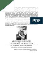 Judecată La Moscova - Vladimir Bukovski