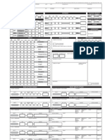 Fill Able Character Sheet