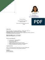 Curriculum Florencia Monti 2018