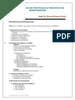 Pasos Protocolo de Proyecto de Tesis