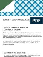 Manual de Convivencia Escolar ESTUDIANTES