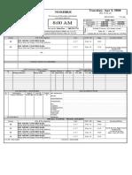 Call Sheet Template - Profesional - SetHero