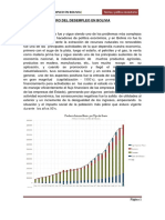 Analisis Financiero Del Desempleo en Bolivia