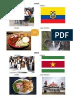 Ecuador y Surinam