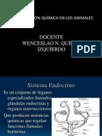 Coord. Quimica en Los Animales