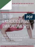E-book - Top 15 Exercícios para Emagrecimento Rápido