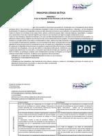 Código de Ética de los Psicólogos de Guatemala