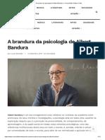 A Brandura Da Psicologia de Albert Bandura – Comunidade Cultura e Arte