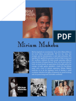 Miriam Makeba (A Hero)