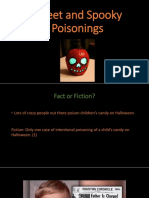 Sweet and Spooky Poisonings