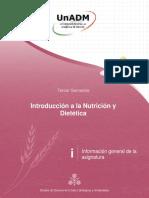 introducción a la nutrición y dietética