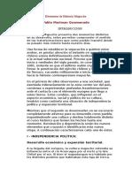 Elementos de Historia Mapuche
