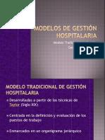 Modelos de Gestión Hospitalaria