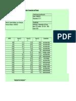 Verificacion de Corrientes Generales de Planta Arauco