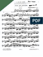 Demersseman - Solo de Concert No.1, Op.19 - Flute Part