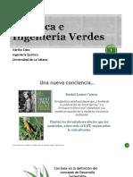 Quimica e Ingenieria Verde