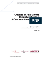 A.von Hoffman_Creating an Anti-Growth Regulatory Regime