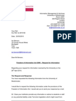 West Minster Response Doc 1 of 3