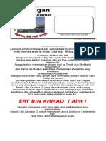 Undangan Haji Ery