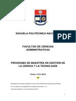 Maestria en Gestion de la Ciencia y la Tecnologia.docx