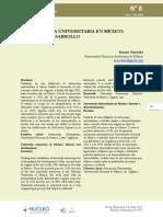 La Autonomía universitaria en México
