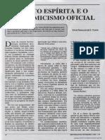 O fato espírita e o academicismo oficial - Vitor Ronaldo Costa