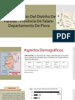Caracterización Del Distrito de Pariñas