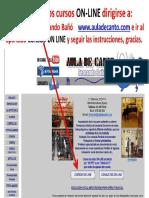 Instrucciones Cursos on-line