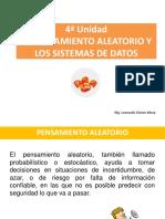 CLASE 6 PENSAMIENTO ALEATORIO Y SISTEMAS DE DATOS ULL 2018 d @.ppt