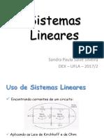 02 Sistema Linear Complemento